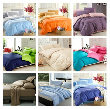 2 color microfiber bedding sets