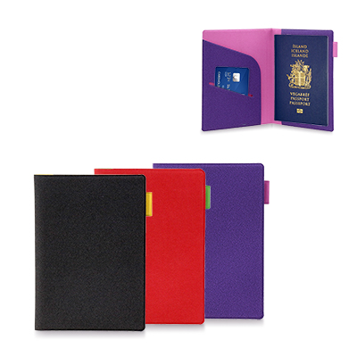 Colorful Passport Holder