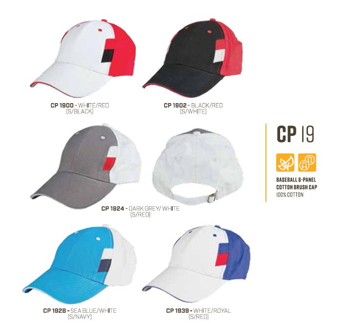Cotton Baseball Cap CP19