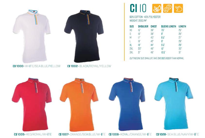 Polo T-Shirts CI10