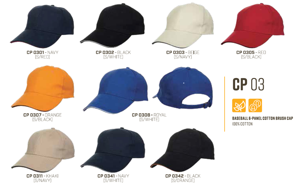 Sandwich Baseball Cap CP03