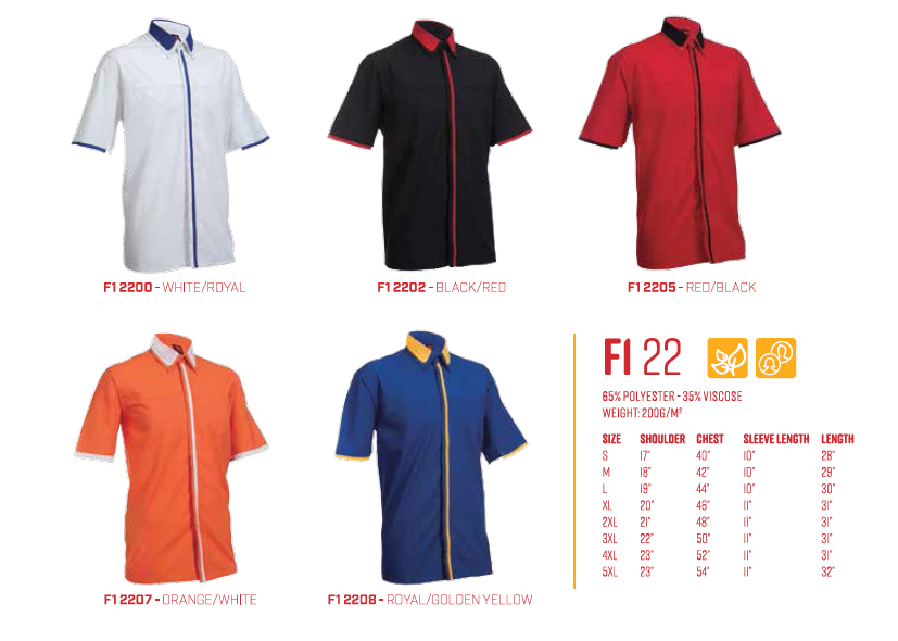 Uniform F122